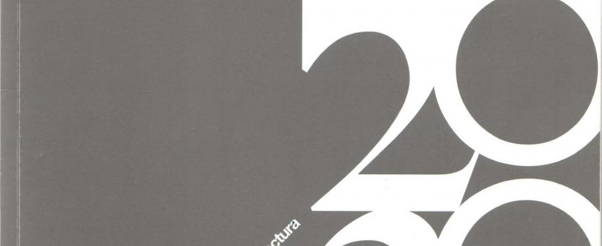 20 años 20 obras, Facultad de Arquitectura Universidad Mayor, primera edición 2008